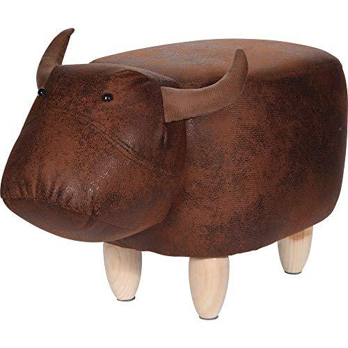 DSM24 Hocker 64x35x29cm Elefant Bulle oder Nilpferd Sitzhocker Sitzmöbel Tierhocker, Design:Bulle