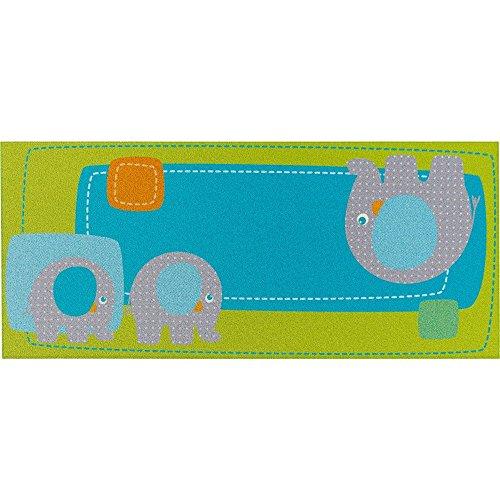 Haba 301058 Teppich Elefant Egon (Baumwolle, 60x140cm) [Spielzeug] [Spielzeug]