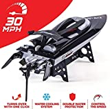 ZHLFDC 30 MPH Rc Boats for Adults, Remote Control Boat, Rc Boat for Lakes, Auto Flip Recovery, Professional Series, Fastest Rc Racing Pool Boat Speed Boat Gift