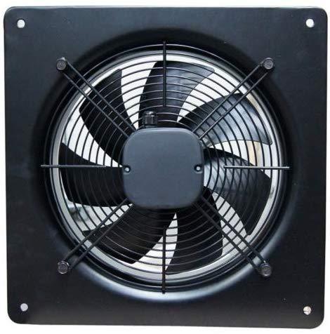 Industrielüfter Industrie Metall Ventilator Ø 500mm Abzug Abluft Zuluft 6000m³/h