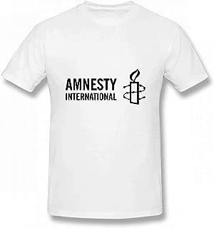 Lzeasiea Amnesty International Men's Tee Fashion T-Shirt