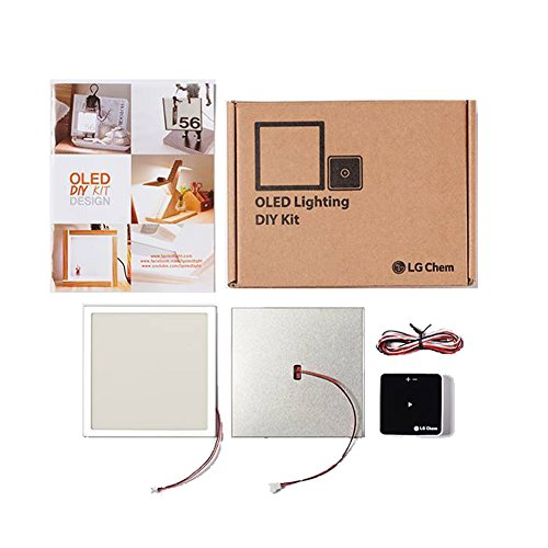 UIV OLED Light 4000K Energy-Saving Lamp No UV Anti-Mosquito DIY Double Kit Creative Home Decor Tools with 2 Panel Modules