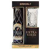 Brugal Extra Viejo Ron Dominicano, 38% + Estuche Vaso alto - 700 ml...