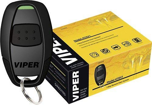 Viper 4115V 1 way 1 button Remote Car Starter + Sound of Tri-State Air Freshener Bundle (Renewed)
