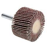 Mola lucidatrice rotante Smerigliatrice elettrica Mola lamellare Alta efficienza di lucidatura Mola abrasiva potente 10 pezzi Levigatura Rettifica premium per smerigliatrice elettrica