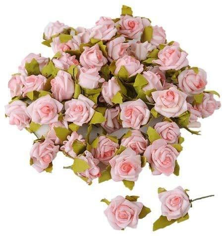jb 50 Streuröschen in rosa Streublüten Rosen 1,5 cm