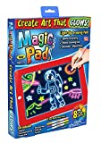 ZINBLE Kids Slate Magic Pad Deluxe Light Up LED Drawing Tablet with Extras - Includes 3 Dual Side...