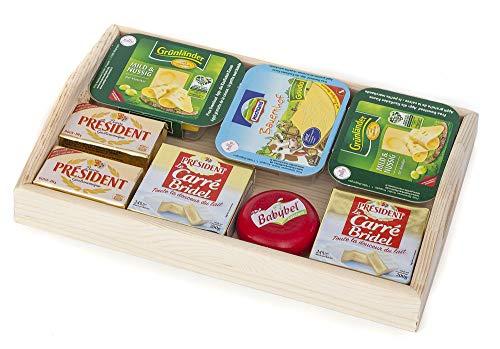 Polly Kaufladen Zubehör Käse Butter auf dem Holz Tablet