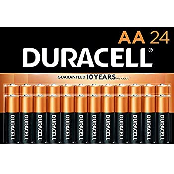Duracell - CopperTop AA Alkaline Batteries - long lasting all-purpose Double A battery for household and business - 24 Count