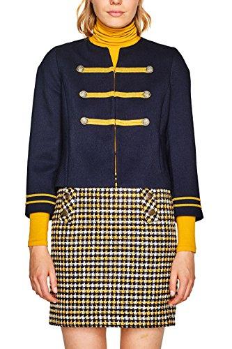 ESPRIT Damen 107EE1G010 Jacke, Blau (Navy 400), Small