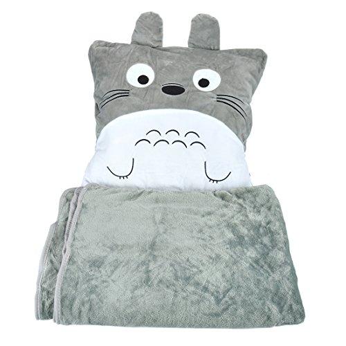 CoolChange Totoro Kuschel Kissen und Decke