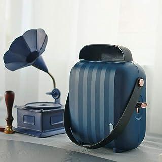 LYzpf Rápido Calentador de Ventilador Mini Cerámica Pequeña Aire Personal Portátil Calefactor Eléctrico Bajo Consumo de Energía para Habitación Oficina Baño