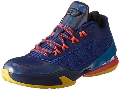 Nike Herren Jordan CP3.VIII Basketballschuhe, Blau/Rot/Schwarz (Dp RYL Bl/Infrrd 23-Blk-Tr YLL), 40 EU