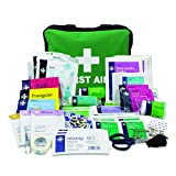 Lewis-Plast Reliance Medical First Aid Kit Bag - 160 Piece Survival Kits - Safety Essentials for Travel Car Home Camping Work Hiking Holiday - Pack Supplies - Medium