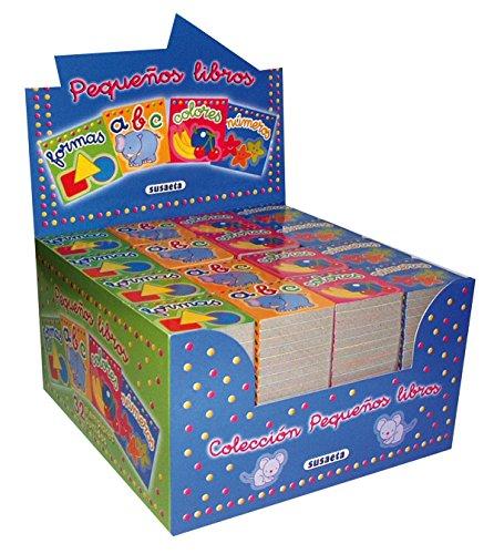 Pequeños libros (Pack 32 ejemplares - 4 títulos differentes)