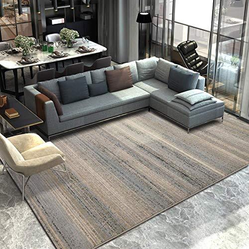ZWWZ Geometrische abstrakte Sammelbereich Teppiche, Moderne rutschfeste Teppiche für Wohnzimmer Schlafzimmer Kinderzimmer Essbodenmatte-e 63x91inch (160x230cm), f, 63x91inch (160x230cm) MISU