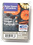 Better Homes & Gardens Scented Wax Cubes, 2019 Limited Edition (Cinnamon Ginger Pumpkin)