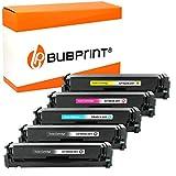 5 Bubprint Toner kompatibel für HP CF400X CF401X CF402X CF403X 201A 201X für Color LaserJet MFP M277DW M277N M270 M252DW M252N M274DN M274N Multipack