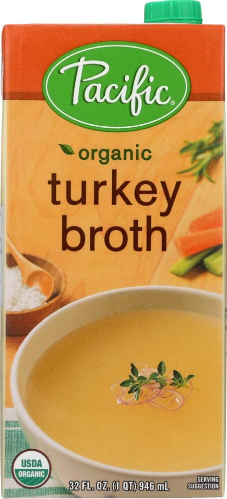 Pacific Foods (NOT A CASE) Organic Turkey Broth