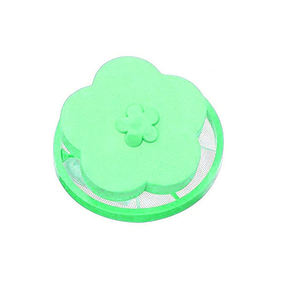 Household Reusable Washing Machine Floating Lint Mesh Bag Hair Pet Fur Filter Net Pouch Laundry Cleaning Supplies Bra Stocking Lingerie Underwear Green Orange (Green)