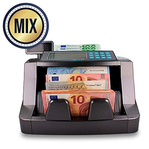 Máquina Contadora Automática de Billetes con Deteccion de Falsificacion Simultanea por MG, UV, IR, 3D y Color | Velocidad de 1000 billetes por minuto