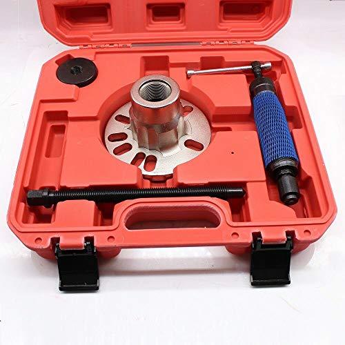 Jintaihua 10T Antriebswellen Ausdrücker, mit Tragbarer Plastikbox Rot, Hydraulik Radnaben Abzieher Kompatibel mit Skoda