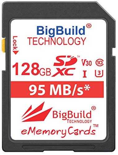 BigBuild Technology UHS-I U3 - Tarjeta de Memoria para Olympus OM D...