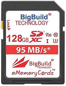 BigBuild Technology UHS-I U3 - Tarjeta de Memoria para Canon PowerShot SX420 IS, SX430 IS, SX520 HS, SX530 HS, SX540 HS, SX60 HS, SX610 HS, SX620 HS, SX710 HS, SX720 HS, SX730 HS, SX740 HS