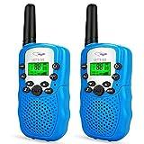 Tisy De largo alcance walkie talkies Para 381 - Los mejores regalos Pmr446Mhz 8 canales para azul