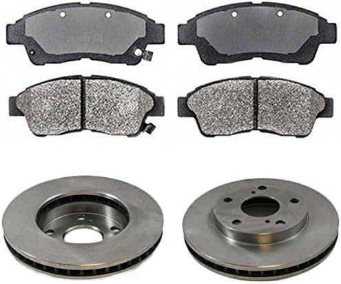 Front Posi Metallic Disc Brake Pads Price reduction Camr Sacramento Mall for Kit Toyota Rotors