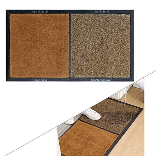 JinYiny Schuhsohlen Desinfektion Bodenmatte Multifunktions-Desinfektion Pad, automatische Reinigung Haushalt Fußpolster, Fußmatte für den Desinfektionsteppich für Innen- und Außentüren