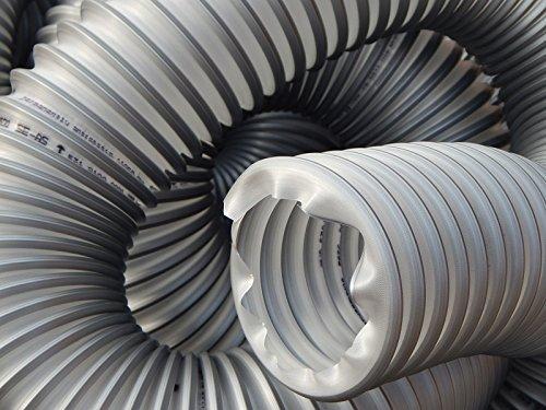 Norres TIMBERDUC® PUR 531 AS Absaugschlauch mit Stahldrahteinlage Flexschlauch Schlauch für Absauganlagen 100mm