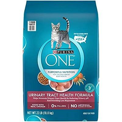 Purina ONE Urinary Tract Health Dry Cat Food, Urinary Tract Health Formula - 22 lb. Bag