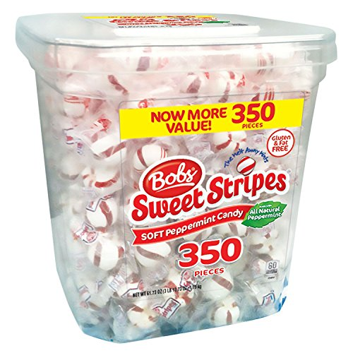 Bobs Sweet Stripes Square Tub (350 count.) ES