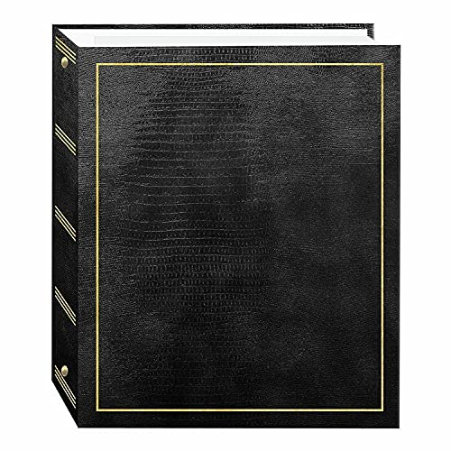 New Magnetic Black Album 5x7 Photos Gift For Mom or Wife Modern magnetic page album magnetic photo album album album magnetic pages album all size pictures albums