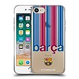 Head Case Designs Licenciado Oficialmente FC Barcelona Barca 2017/18 Campions Carcasa de Gel de Silicona Compatible con Apple iPhone 7 / iPhone 8 / iPhone SE 2020