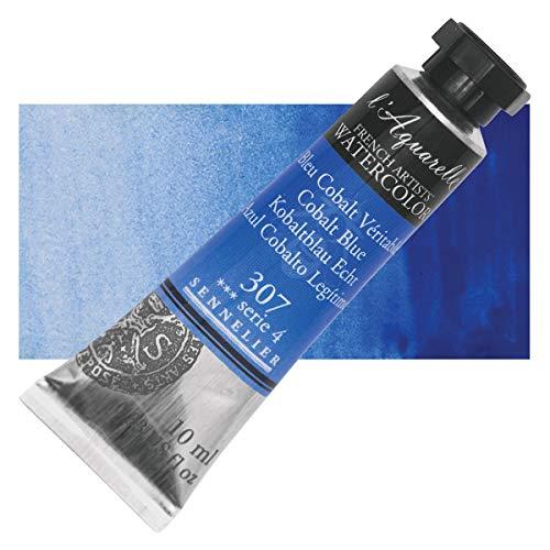 Sennelier l'Aquarelle Watercolor Tubes 10ml - Cobalt Blue 10ml Tube