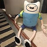 vwsitc Peluches Finn Jake BMO Muñecos De Peluche Hora De Aventura Juguetes Blandos De Dibujos Animados Regalos para Niños 42Cm