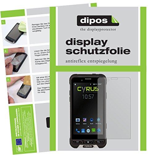 dipos I 6X Schutzfolie matt kompatibel mit Cyrus CYR10090 CS35 Folie Bildschirmschutzfolie