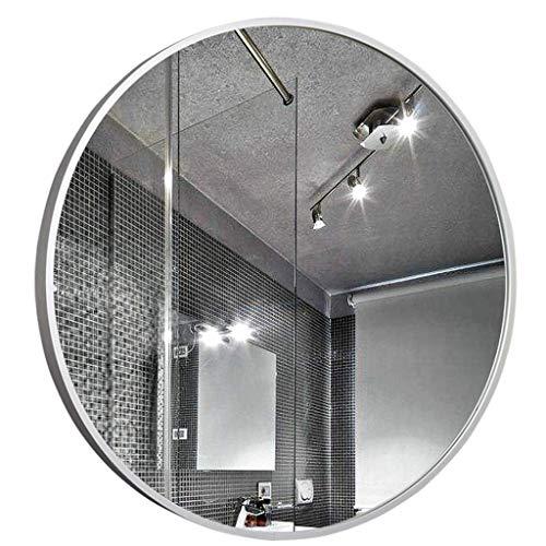 DCLINA Espejo Maquillaje Espejos Espejo baño Espejo Maquillaje Espejo baño Espejo Colgante Pared Espejo Decorativo Redondo Grande, para Pasillo, Sala Estar, Dormitorio