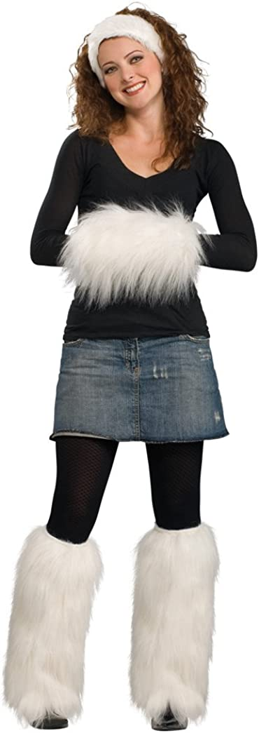 Rubie's Costume Faux Fur Muff with Set Max 76% OFF Headband Leg Warmers and Beauty products