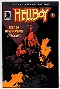HELLBOY SEED of DESTRUCTION #1 NM Mike Mignola 25th Anniversary 2019 more in store