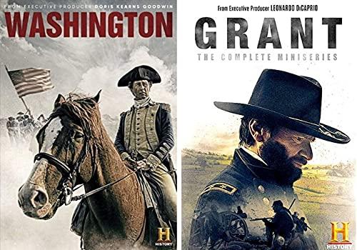 Washington & Grant Complete History Channel Miniseries DVD SET 2020