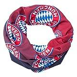 FC Bayern MÜNCHEN kompatibel Multifunktionstuch Kids Mundschutz + Sticker München Forever/Tuch/Kopftuch/Halstuch/Cap Munich