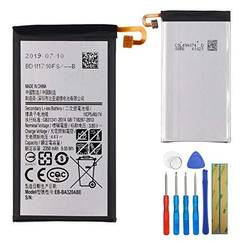 E-yiviil EB-BA320ABE - Batería de Repuesto Compatible con Samsung Galaxy A3 2017 Versión A320 con Herramientas