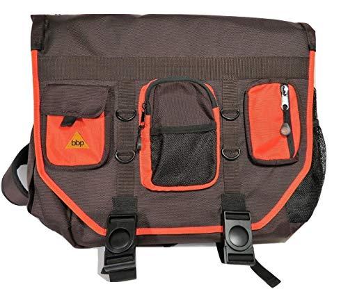 BumBakPak Hamptons Hybrid Messenger/Backpack Laptop Bag ChocoTango Large