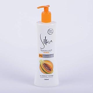 Silka Whitening Lotion Papaya Spf6 500Ml