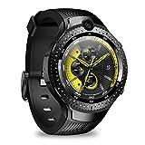Zeblaze Thor 4 duales Smart Watch Reloj Inteligente Android 7.1 4G 5MP + 5MP Cámara Doble 1 + 16G Memoria 530 mAh Batería de 1,4 Pulgadas Reloj Inteligente con Pantalla AMOLED