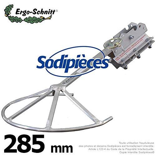 Ergo-Schnitt 50359 Kanten mit Rindenschutz aus Aluminium, Profi- und Hobbyeinsatz, Schneidwerkzeuge bis 255 mm