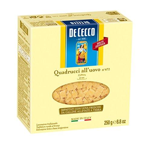 De Cecco Quadrucci All'Uovo n° 672 - 250 g
